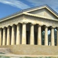 Capo Colonna. Ricostruzione video 3D del Tempio di Hera Lacinia (KR)