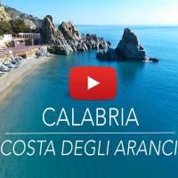 Calabria: Costa degli Aranci vista con drone