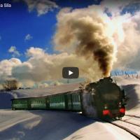 Il famoso trenino a vapore della Sila