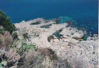Vasche di Cassiodoro (vasche nella scogliera, create per allevare i pesci pescati)