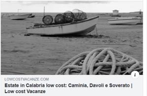 Vacanze estive economiche Calabria